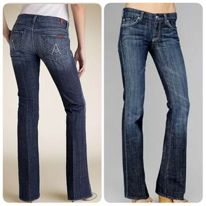 "7 FAMK ""A Pocket"" Bootcut Denim Jeans"